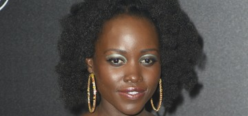 Lupita Nyong'o in Prada at the Cannes Chopard event: the only true princess?