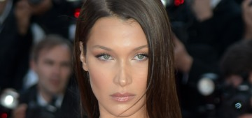 Bella Hadid in Dior at the Cannes 'Ash' premiere: stunning or a wash-out?