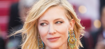 Cate Blanchett in Armani at the Cannes 'Women's March': stunning?