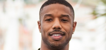 Please look at Michael B. Jordan's amazing arms at the Cannes Film Festival