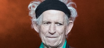 Keith Richards stabbed a table with his 'trusty knife' over a beef with Donald Trump