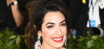 Amal Clooney's last-minute Met Gala dress changes pissed off Vogue & Tom Ford