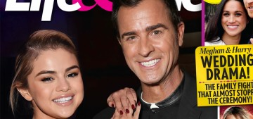 L&S: Justin Theroux & Selena Gomez might be happening now, very quietly