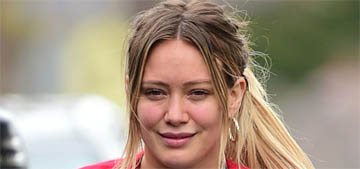 Hilary Duff doxxed her annoying neighbor, the neighbor says her boyfriend punched him