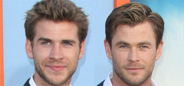 Chris, Liam and Luke Hemsworth's dad is a fit silver fox