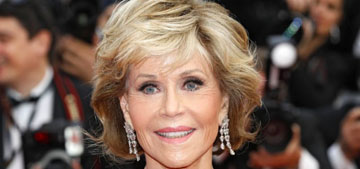 Jane Fonda: 'Older people tend to be much less hostile, less anxious'