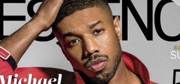 Michael B. Jordan is shirtless on the cover of Essence, talks about dating black women