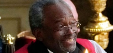 Reverend Michael Curry brought Jesus Fire to those stuffy British folks