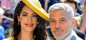Amal Clooney in Stella McCartney at the Royal Wedding: canary-fug or gorgeous?