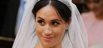 Meghan Markle's makeup and arguably hair were on point for the Royal Wedding