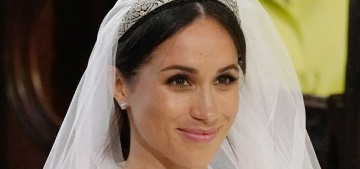 Meghan Markle's two bridal gowns cost £280K combined, apparently