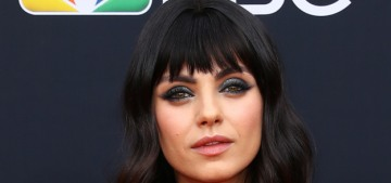 We need to have a conversation about Mila Kunis's bangs trauma at the BBMAs