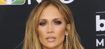 Jennifer Lopez in a revealing Roberto Cavalli at the BBMAs: tragic or fantastic?