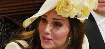 Did Duchess Kate debut her new 'push present', a Kiki McDonough citrine ring?