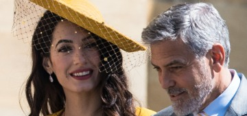 No one is really sure why George & Amal Clooney were invited to the Royal Wedding