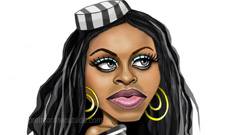 Foxy Brown gets a year in jail