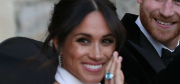 Were Meghan Markle's wedding-day Cartier jewelry pieces bought or loaned?
