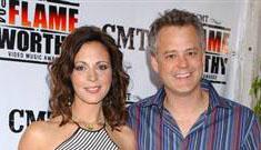 "Ex ""Dancing"" contestant Sara Evans' husband says she had 11 affairs"