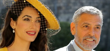 Theory: George & Amal Clooney attended the royal wedding because of Casamigos