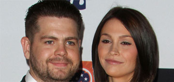 Jack Osbourne and ex Lisa stage a pap stroll to show they're still getting along