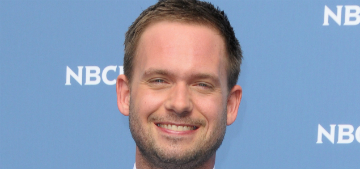 Patrick J. Adams sorry for posting pic of woman who called his picture chunky