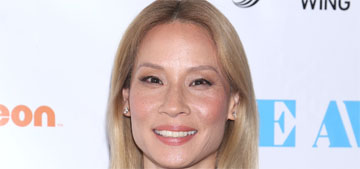 Lucy Liu went blonde and looks much different, right?