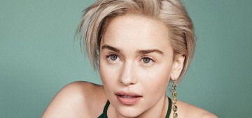 Emilia Clarke: 'I ain't got me no celebrity friends…there's not a lot of actors I relate to'