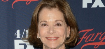 Jessica Walter wept as she described being verbally harassed by Jeffrey Tambor