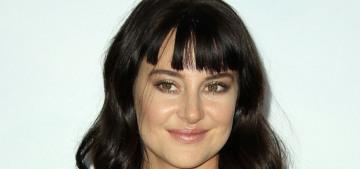 Shailene Woodley debuts bangs trauma & her boyfriend on the 'Adrift' red carpet