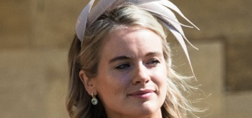 Cressida Bonas' biggest angst about the royal wedding?  Hats & fascinators.
