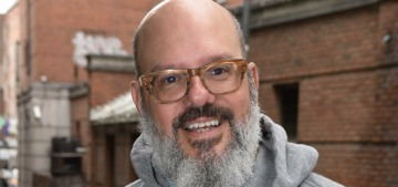David Cross apologized to Jessica Walter after his wife spoke to him, of course