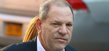 Harvey Weinstein smiled at the cameras during his handcuffed perp walk