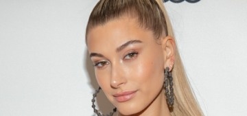 Hailey Baldwin doesn't even talk about politics with her Trump-supporting dad anymore