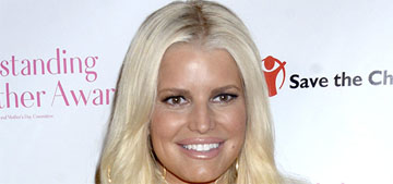 Jessica Simpson has a huge closet full of painful-looking shoes