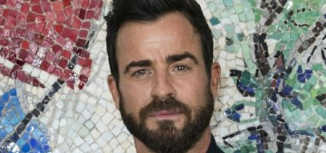 Justin Theroux went yachting (sans jorts) with Laura Harrier in the French Riviera