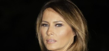 Melania Trump 'tweets' a message, allegedly 'proving' that she's hard at work