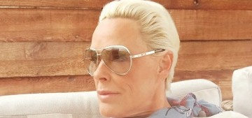 So, 54-year-old Brigitte Nielsen is expecting her fifth child with her fifth husband