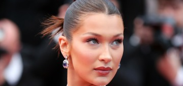 Bella Hadid on the plastic surgery rumors: 'We can do a scan of my face, darling'
