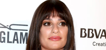 Lea Michele gave a commencement speech sponsored by Whirlpool: tacky?