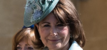 Carole Middleton reveals her plans for a 'lavish' christening for Prince Louis