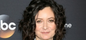 Sara Gilbert is trying to make a 'Roseanne' spinoff happen without Roseanne Barr