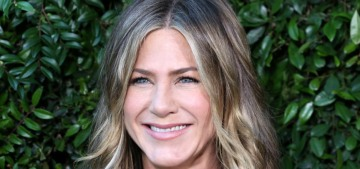 Jennifer Aniston looked slightly different & mostly great at a Malibu benefit