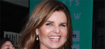 Maria Shriver talks to Oprah about happiness: 'It's when a friend calls to say hi'