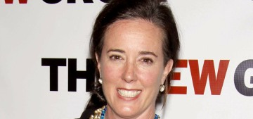 Kate Spade committed suicide yesterday in her Park Avenue apartment