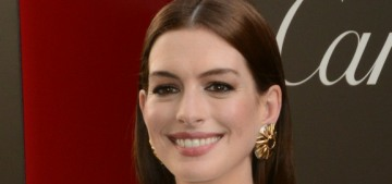 Anne Hathaway in Jean Paul Gaultier at the 'Ocean's Eight' premiere: cute or nah?