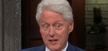 Bill Clinton got a do-over to discuss the Me Too movement & Monica Lewinsky
