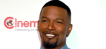 Jaime Foxx was made to sing offstage in a college musical because he's black