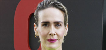 Sarah Paulson gushes about Rihanna, calls her reserved, mellow