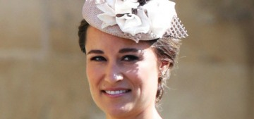 Pippa Middleton confirms her pregnancy, says she doesn't have any morning sickness