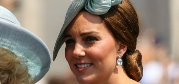 Duchess Kate wore McQueen for Trooping the Colour: puffy-sleeved fuggery?
